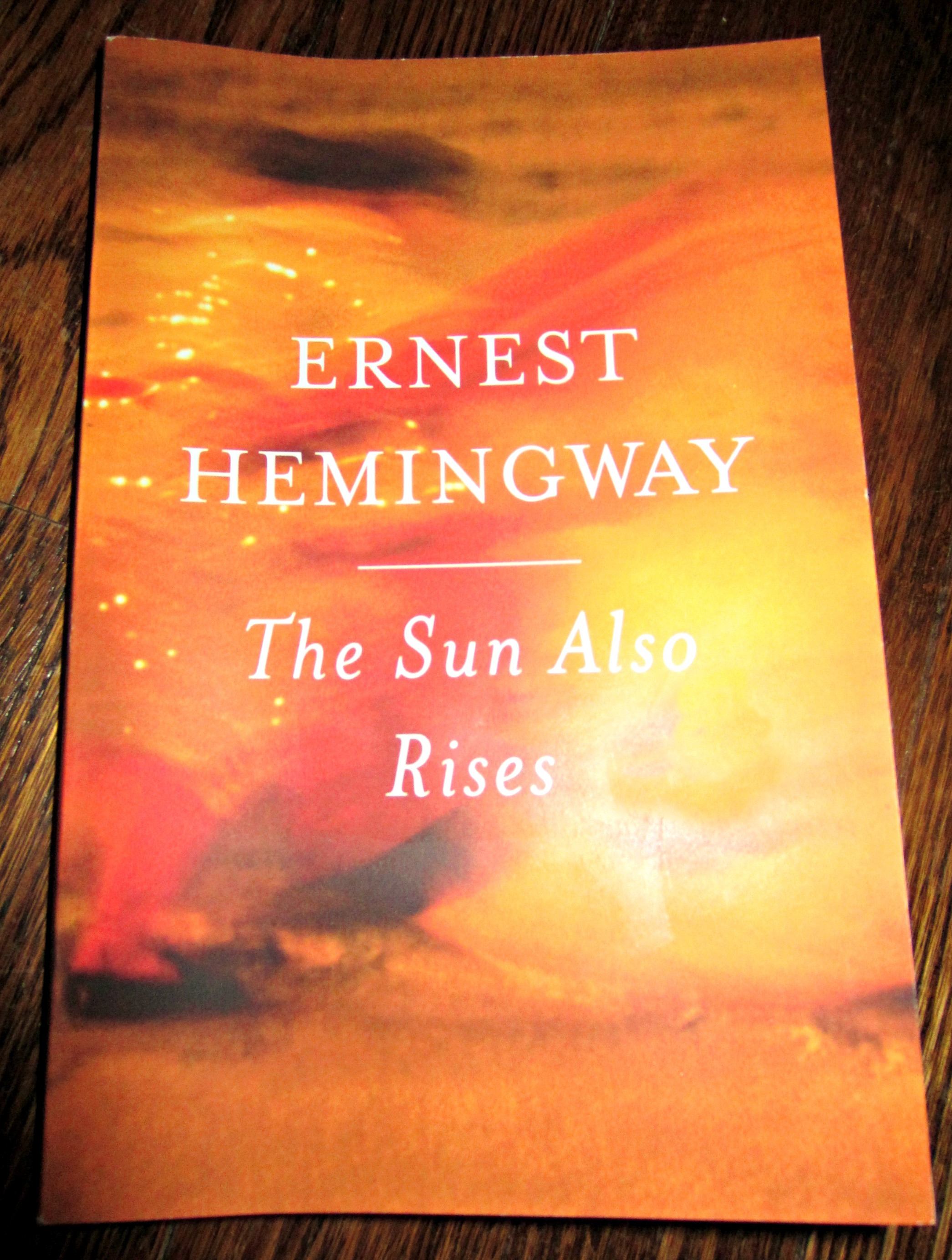 an analysis of the topic of the sun also rises by ernest hemingway Booker's seven basic plots analysis: voyage and return originally published in 1926, the sun also rises was ernest hemingway's first big hit.
