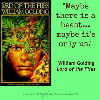 a brief review of william goldings novel the lord of the flies Best known for his novel lord of the flies,  william golding's lord of the flies  (review section.