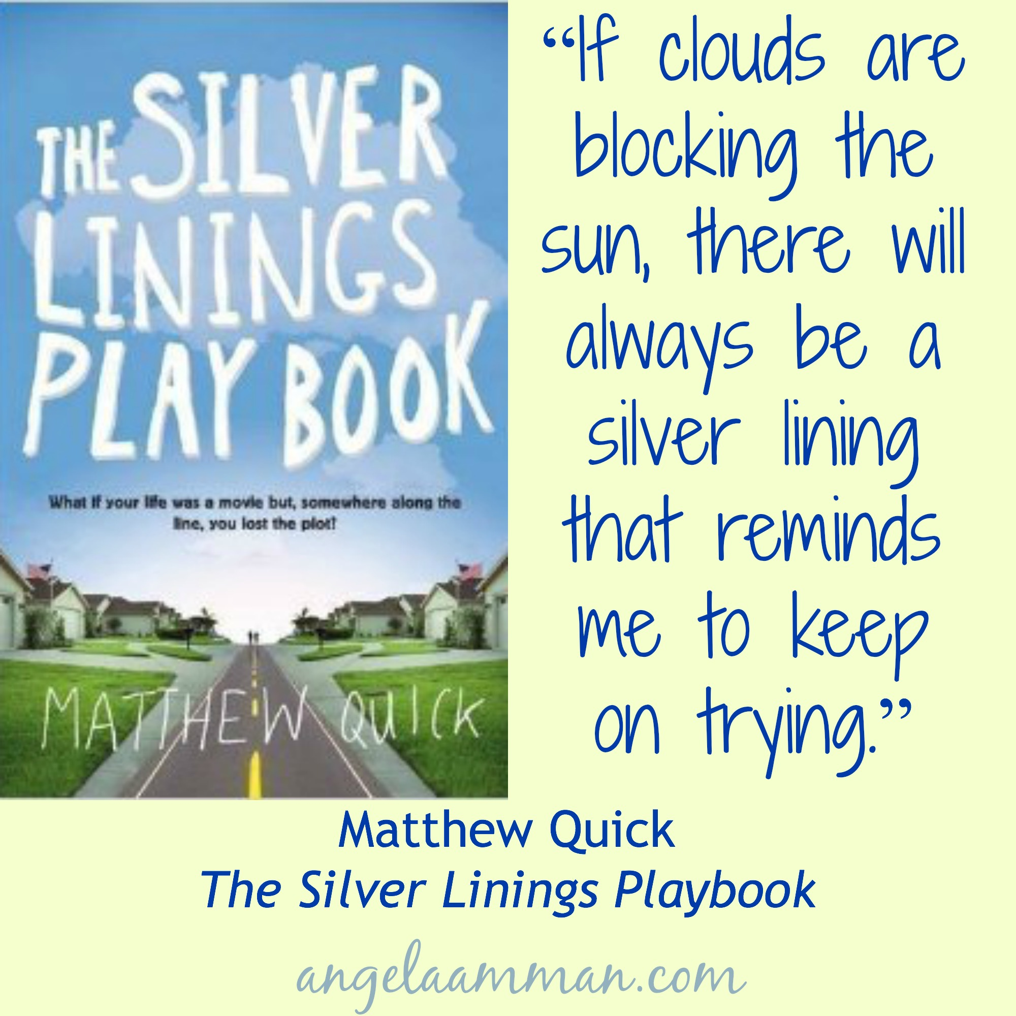 silver linings playbook essay The movie, the silver linings playbook by david o russel, shows a phenomenal representation of several mental health issues and everyday problems going on in almost the whole entire cast.