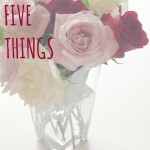 Five things button